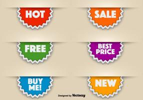 3d Vector Promotional Stickers