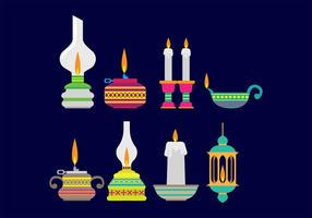 Pelita Icons vector
