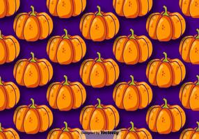 Pumpa Seamless Pattern Vector
