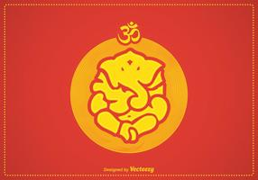 Free Vector Ganpati Illustration