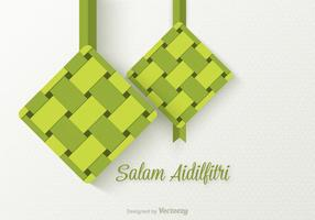Free Salam Aidilfitri Vector Background