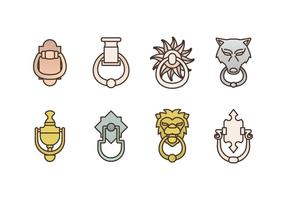 Free Door Knocker Vector