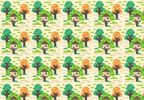 Gratis Tree House Vector