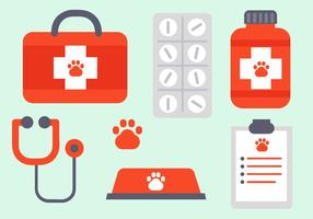 Gratis Vet Elements Vector