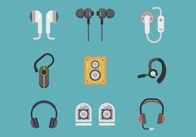 Freier Kopfhörer-Vektor