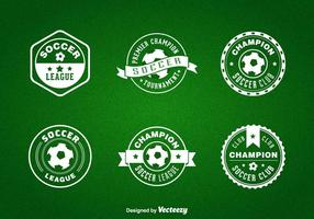 Gratis Futsal Vector Badges