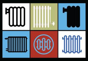 Radiator Vector Set 1