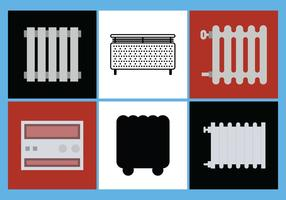 Radiator Vector Set 4