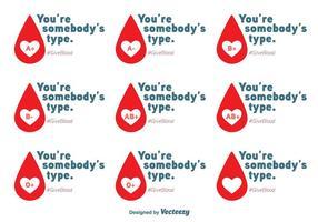 Mensajes del vector de la impulsión de la sangre