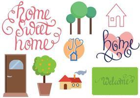 Vettori di casa gratuiti