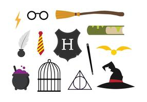 Gratis Hogwarts Vector Set