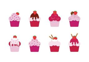 Free Strawberry Shortcakes Vectors