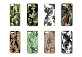 Phone Case Camo Vector