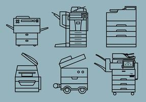 Photocopier Vector Pack