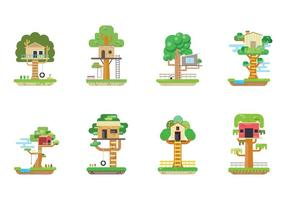 Gratis Treehouse Vector