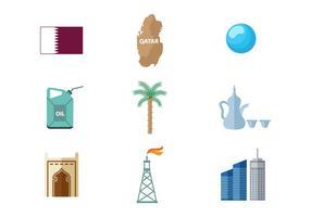 Free Qatar Icons Vector