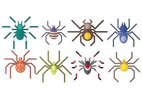 Libre Tarantula Icons Vector