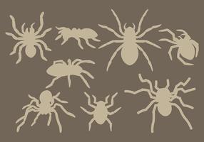 Kostenlose Tarantula Icons Vektor