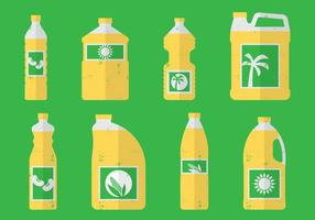Cooking Oils vector