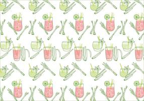 Lemongrass Pattern Vector