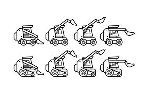 Free Skid Steer Vector Pack
