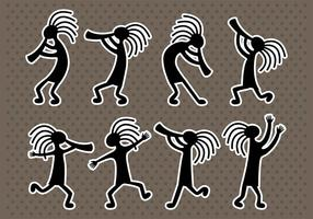 Kokopelli Pictogrammen