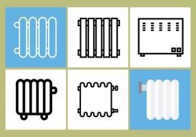 Radiator vector set 3