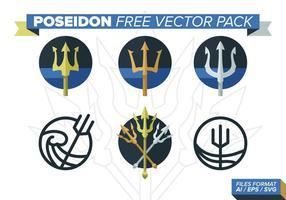 Poseidon kostenlos vektor pack