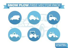 Snow Plow Free Vector Pack