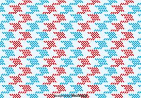 Red And Blue Keffiyeh Pattern vector