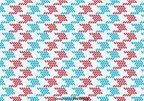 Rood En Blauw Keffiyeh Patroon