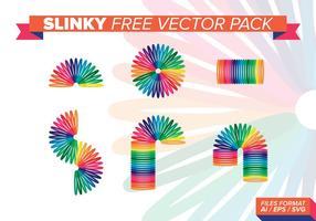 Pacchetto di vettore gratuito Slinky