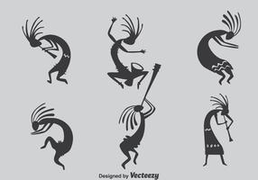 Kokopeli collectie vector
