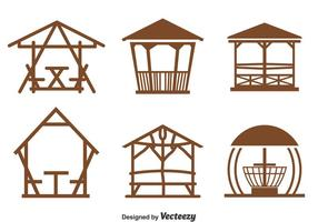 Gazebo Collection Vector