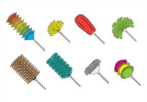 Feather Duster Icons