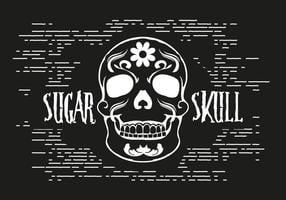Free Sugar Skull Vector Illustration