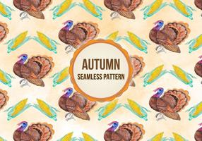 Vector Autumn Thanksgiving Background