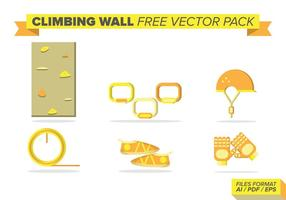 Parede de escalada Free Vector Pack