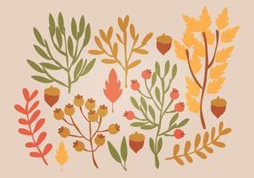 Feuilles d'automne vectorielles