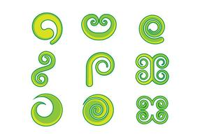 Free Koru Graphic Vectors