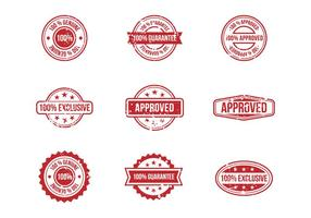 Free Stamp Stempel Badges Vectors