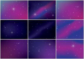 sfondo di polvere di stelle