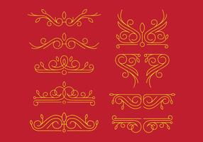 Victorian Ornaments vector