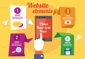 Vector Website Elements