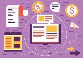 Elementos Web Vector Diseño Plano Libre