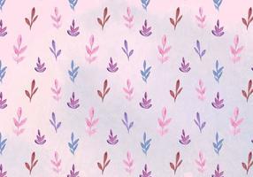 Free Vector Aquarell Blätter Muster