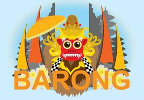 Gratis Barong Illustration
