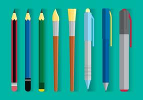 Drawing Equipment Vector