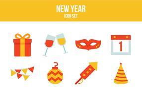 Free New Year Icons