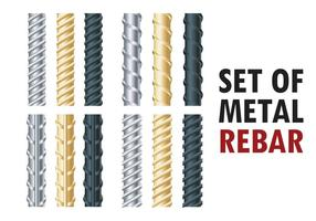 Rebars Vector Illustration